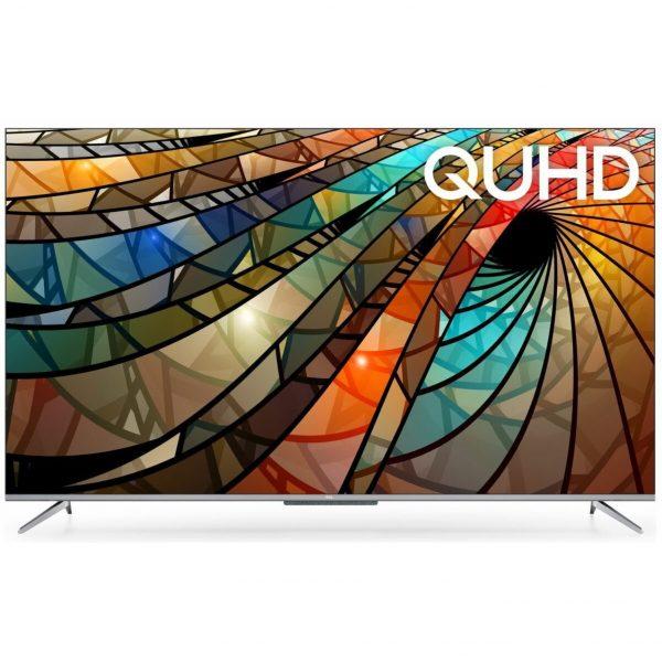 """TCL televizor 50P715, 50"""" (126 cm) LED, 4K Ultra HD, Android 9.0 , Srebreni"""